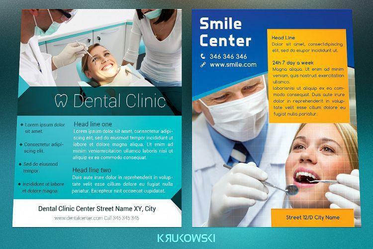 Dental Flyers Bundle by Krukowski Graph | Design Bundles