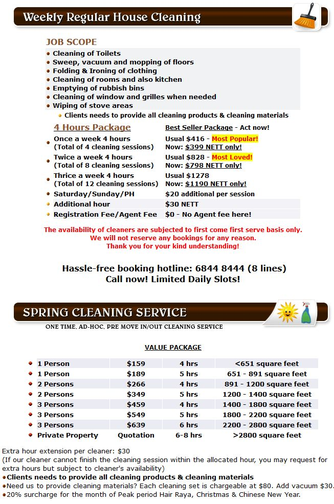 bsolute Cleaning - Part Time Maid, Spring Cleaning & Carpet ...