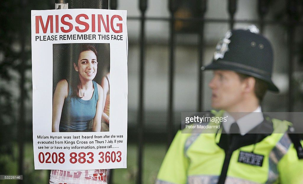 Posters Of The Missing From The London Bomb Blast Photos and ...