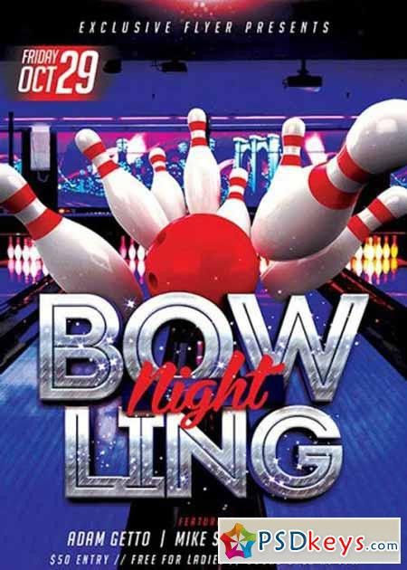 Bowling » Free Download Photoshop Vector Stock image Via Torrent ...