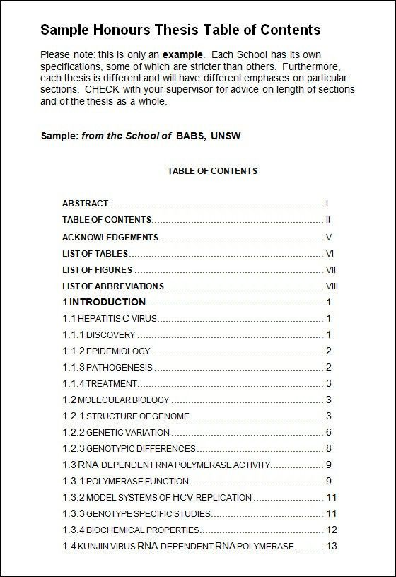Table of Contents Template - 9+ Download Free Documents in PDF ...