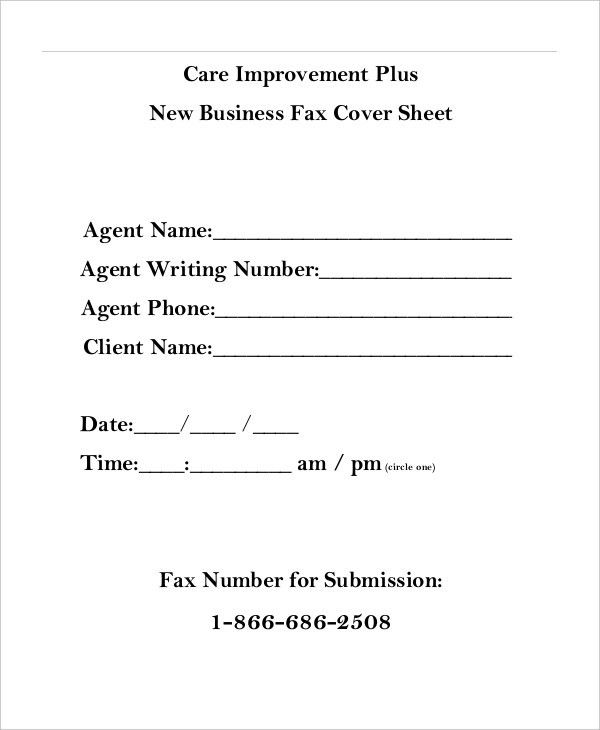 Cute Fax Cover Sheet. Fax Cover Sheet Template - 15+ Free Word ...