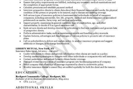 Claims Adjuster Resume Objective - Reentrycorps