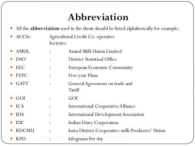 ABBREVIATION FOR EXAMPLE - alisen berde