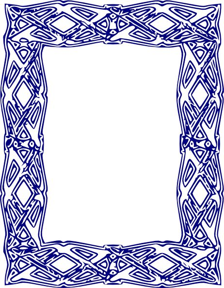 Free Blue Borders And Frames | Free Download Clip Art | Free Clip ...