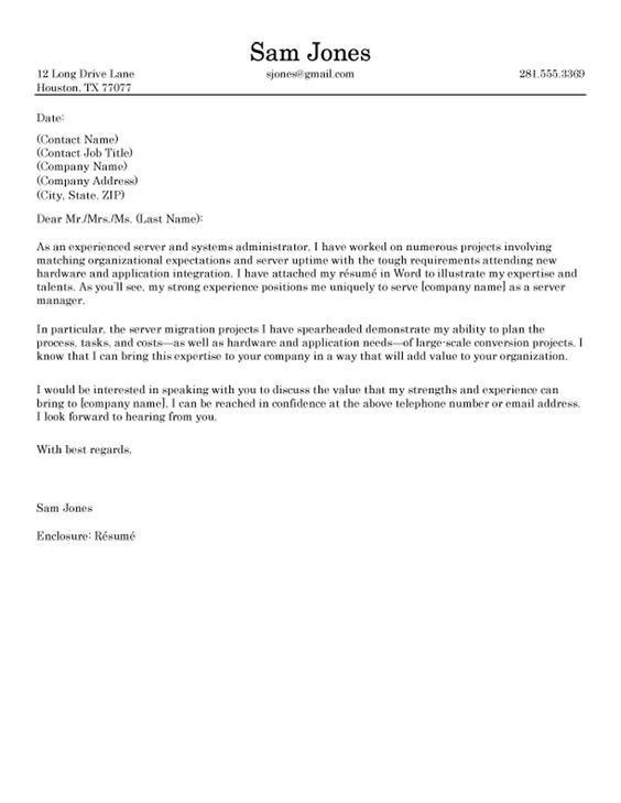 Resume Example, Purchaser Example Of Cover Letter ~ General ...