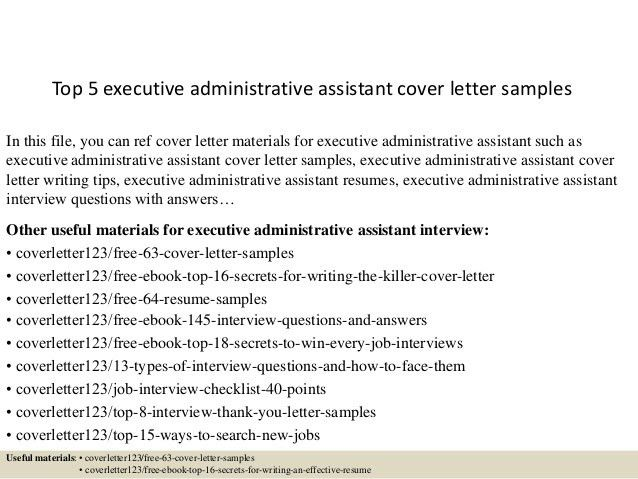 Admin Assistant Cover Letter. Administrative Assistant Cover ...