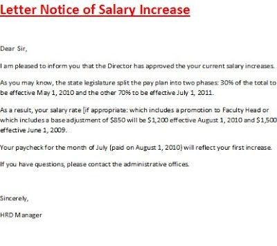Salary Proposal Template Sample Salary Proposal Template 5 Free