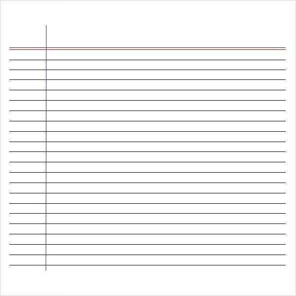 Writing Paper Template | rubybursa.com