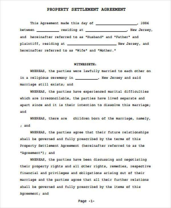 10+ Sample Settlement Agreement - Free Sample, Example, Format