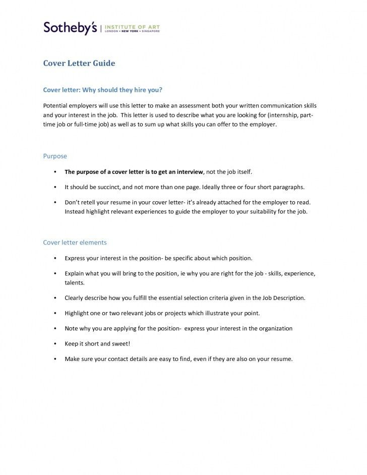 Cover Letter Guide | articleezinedirectory