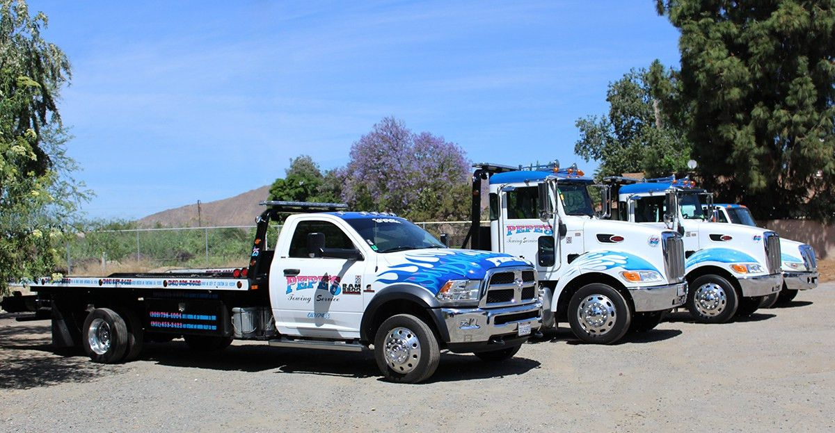 Towing Colton | Pepe's Towing