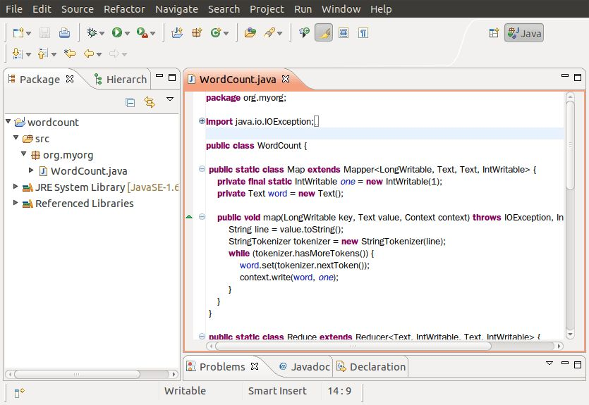 Word Count Example Part I - Create Your Own Jar - TACC-Hadoop