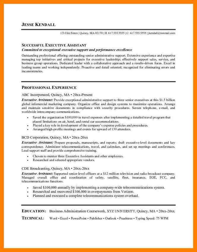 Resume Objective Statements For Administrative Assistant. image ...
