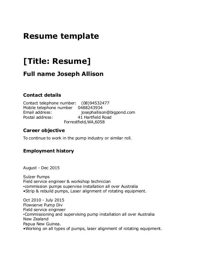 resume template standard standard resume templates to impress any