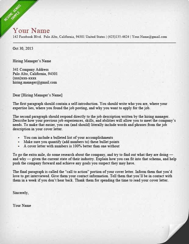 Examples Of Resume Cover Letters. Examples Of Cover Letters Of ...