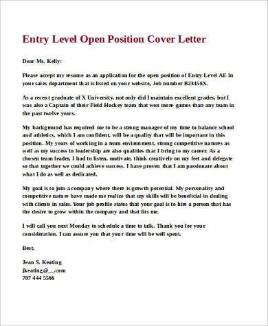 how to open a cover letter