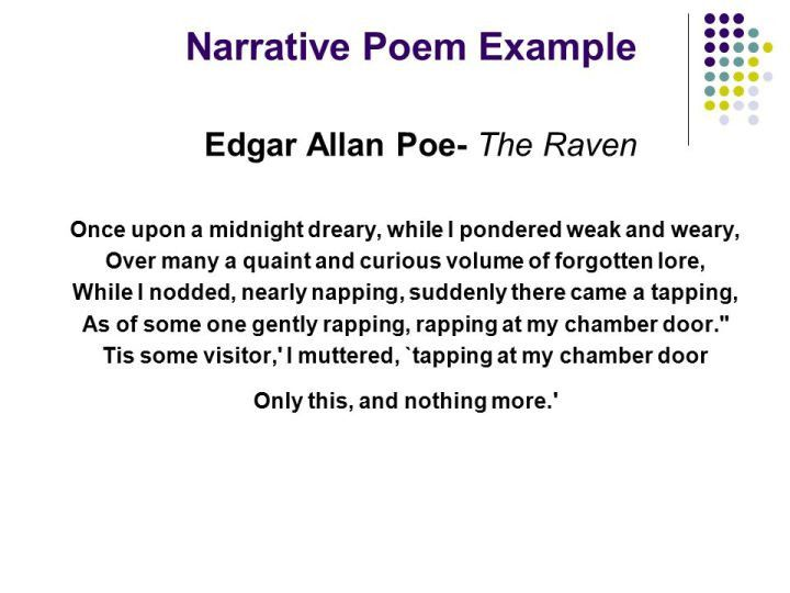 Definition And Example Of A Narrative Poem | MyPoems.Co