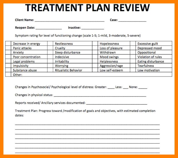 5+ Counseling Treatment Plan Template | army memo format