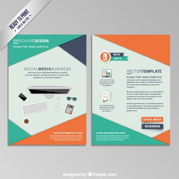 Pamphlet Vectors, Photos and PSD files | Free Download