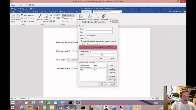 Create A Form In Word Fillable Forms Doc Free Microsoft Postcard ...