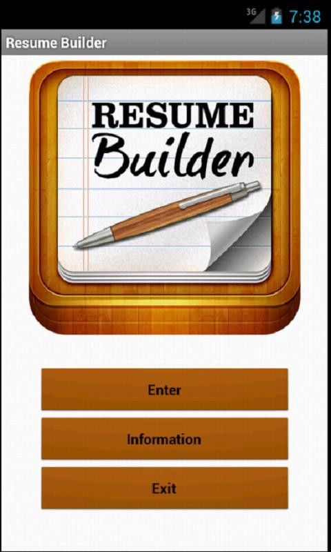 Resume Builder Pro - HD - Android Apps on Google Play