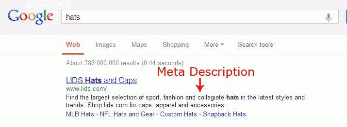 Adding a Meta Description Tag | InMotion Hosting