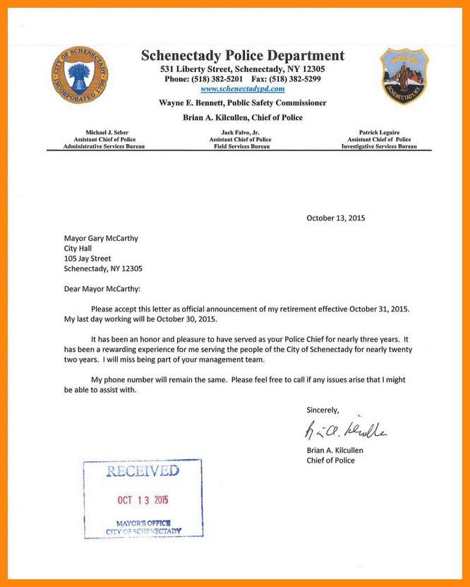5+ resignation letter police | nurse resumed