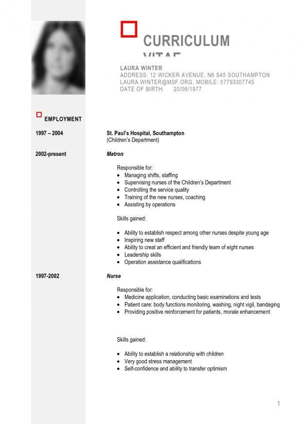 Curriculum Vitae : Objective Statements For Resume Resume Samples ...
