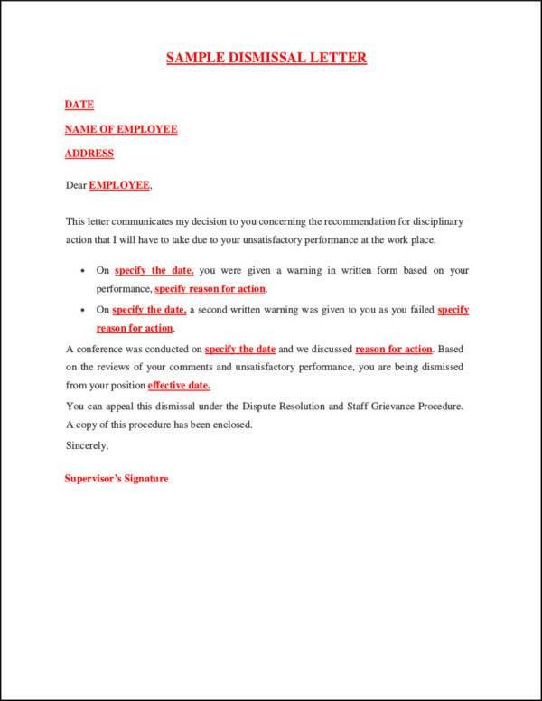 37+ Termination Letter Templates