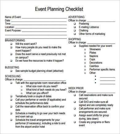 Best 20+ Event planning template ideas on Pinterest | Party ...