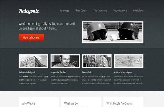 45 High-Quality Free HTML/CSS Templates from 2011 and 2012 ...
