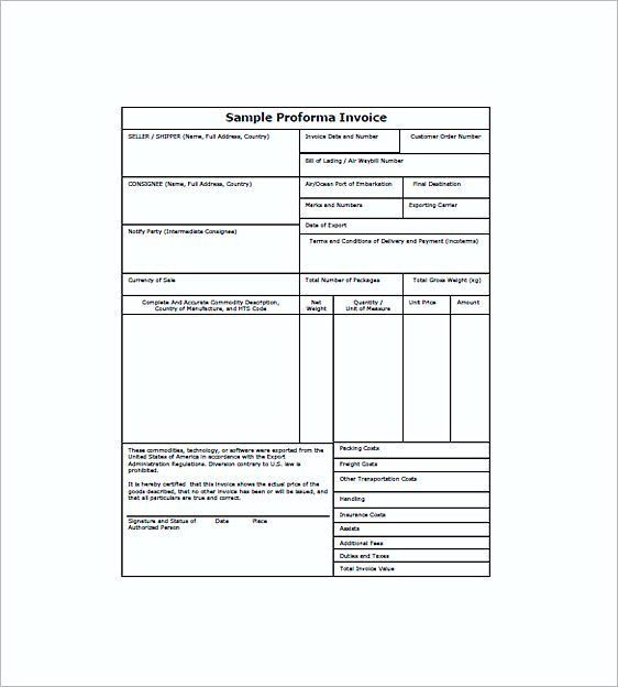 Must-Red: Good Applicable Tips on Pro Forma Trucking Invoice Template