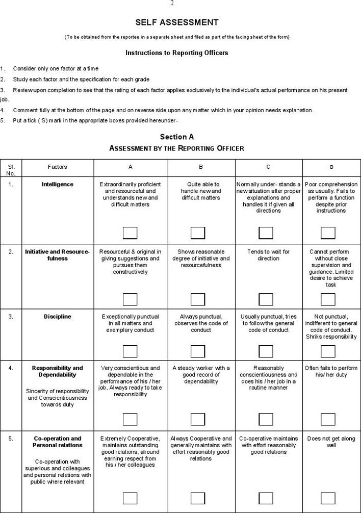 Employee Appraisal Form | Coaching Training Evaluation | Pinterest ...