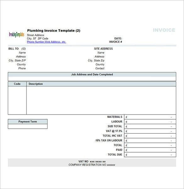 Contract Invoice Template – 8+ Free Word, Excel, PDF Format ...