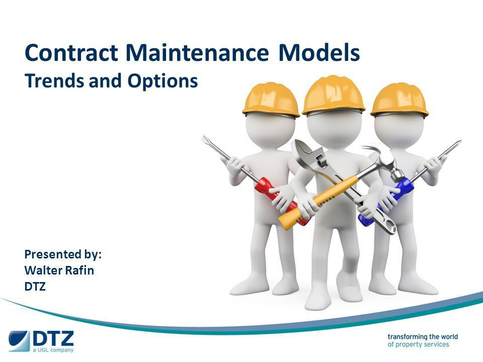 Presentation Roadmap Maintenance Contract Model Options - ppt ...