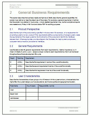Company Profile Word Document
