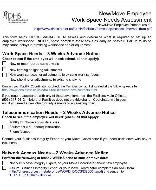 32+ Free Needs Assessment Templates | Free & Premium Templates