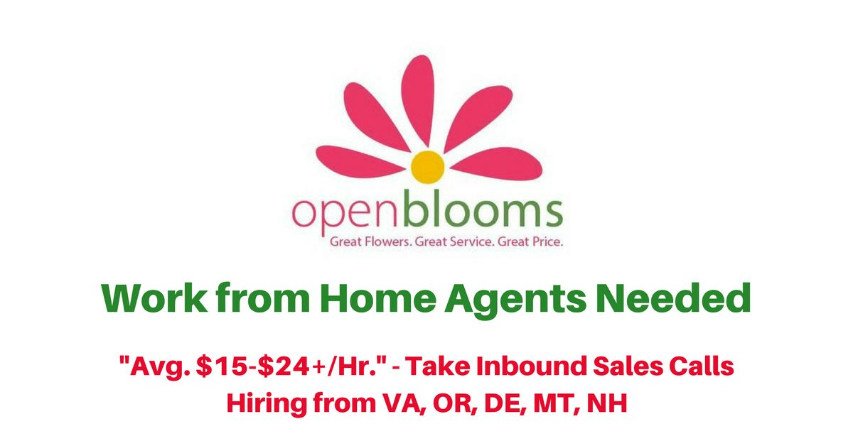 Open Blooms Archives - Real Work From Home Jobs by Rat Race Rebellion