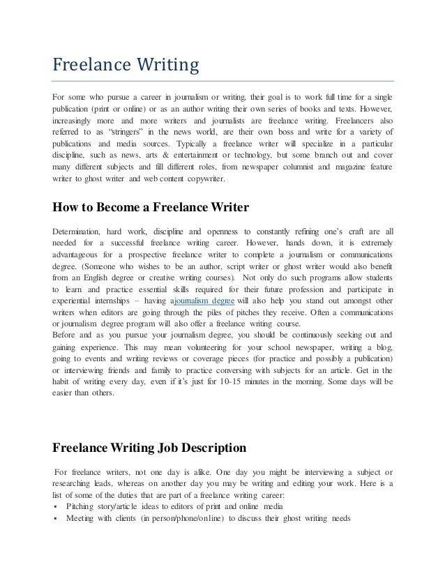 Lance essay writers