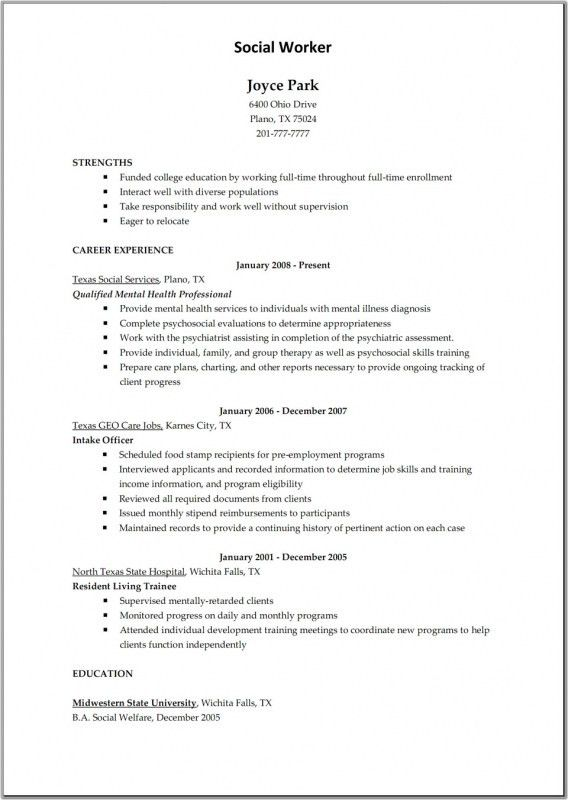 Resume For Child Care Job | Samples Of Resumes