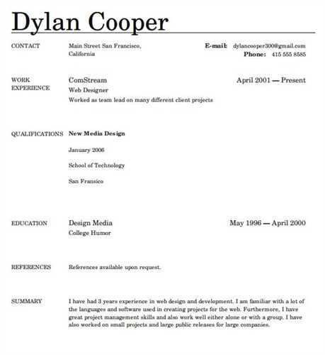 Top Rated Resume Templates. Stylish Ideas Top Resume Formats 6 ...