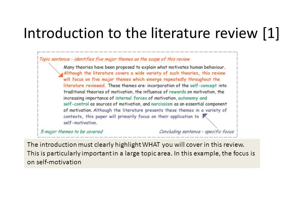 Literature Review. - ppt video online download
