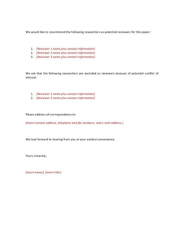 Cover Letter Sample Journal Submission Cover Letter Cover Letter ...