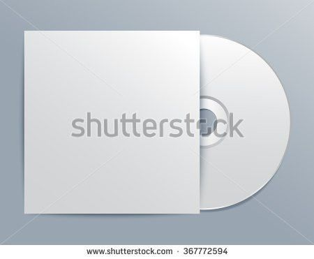 Cd Cover Template Vector Illustration Stock Vector 367772522 ...