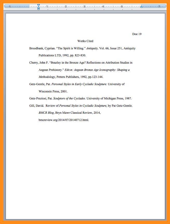 10+ mla bibliography example | resume setups