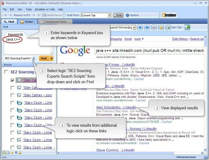 Resume Search Engines 22 Search Resumes Free Sainde Org - uxhandy.com