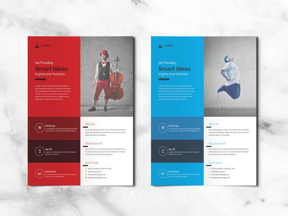 FREE Corporate Flyer | FREE InDesign Templates for Designers