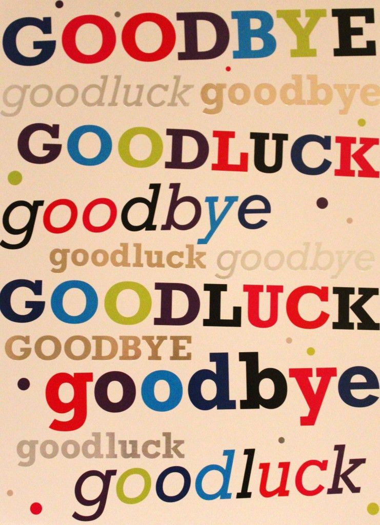 GOODBYE FAREWELL Quotes Like Success