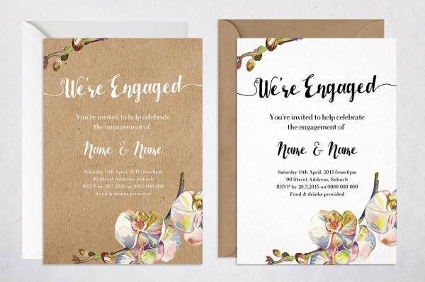 7+ Rustic Engagement Invitations - JPG, Vector EPS, AI Illustrator ...